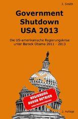 Government Shutdown USA 2013
