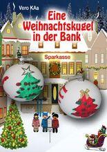 Eine Weihnachtskugel in der Bank