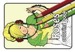 Roses - Coloring Book