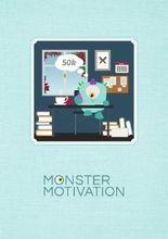 Monstermotivation Schreibtagebuch: Notizbuch, 32 gestaltete Seiten, DIN A5