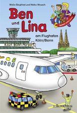 Ben und Lina am Flughafen Köln/Bonn