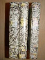 Herr der Ringe 3 Bände. die Gefährten, die zwei Türme, die Rückkehr des Königs