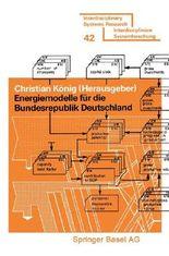 Energiemodelle für die Bundesrepublik Deutschland