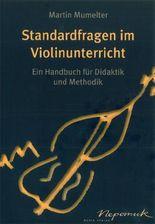 Standardfragen im Violinunterricht