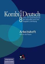 Kombi-Buch Deutsch - Ausgabe Luxemburg / Arbeitsheft 8