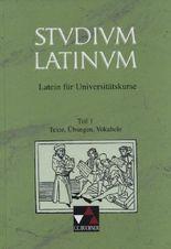 Studium Latinum. Latein für Universitätskurse