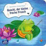 Quacki, der kleine freche Frosch