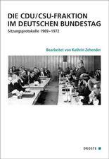 Die CDU/CSU-Fraktion im Deutschen Bundestag