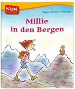 Millie in den Bergen