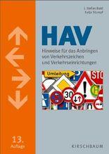 Hinweise für das Anbringen von Verkehrszeichen und Verkehrseinrichtungen (HAV)