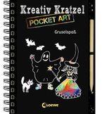 Kreativ-Kratzel Pocket Art: Gruselspaß