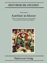 Konflikte im Kloster