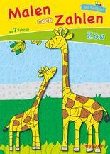 Malen nach Zahlen Zoo ab 7 Jahren