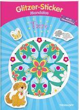 Glitzer-Sticker-Mandalas Tiere