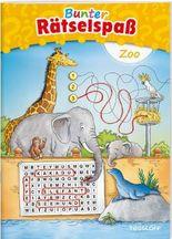 Bunter Rätselspaß Zoo ab 7 Jahren
