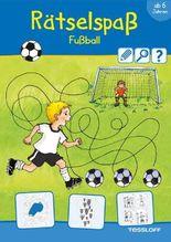 Rätselspaß Fußball ab 6 Jahren