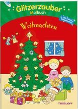 Glitzerzaubermalbuch. Weihnachten