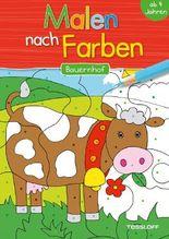 Malen nach Farben. Bauernhof