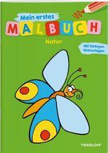 Mein erstes Malbuch Natur