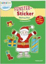 Fenster-Sticker. Weihnachten