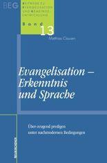 Evangelisation, Erkenntnis und Sprache