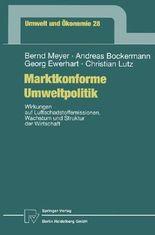 Marktkonforme Umweltpolitik