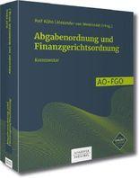 Abgabenordnung und Finanzgerichtsordnung