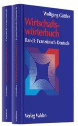 Wirtschaftswörterbuch Gesamtwerk