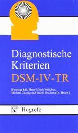 Diagnostische Kriterien DSM-IV-TR