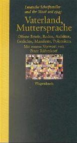 Vaterland, Muttersprache