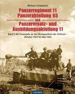 Panzerregiment 11, Panzerabteilung 65 und Panzerersatz- und Auslbildungsabteilung 11