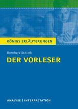 Textanalyse und Interpretation zu Bernhard Schlink. Der Vorleser