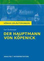 Der Hauptmann von Köpenick von Carl Zuckmayer