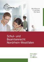 Schul- und Beamtenrecht in Nordrhein-Westfalen