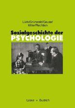 Sozialgeschichte der Psychologie