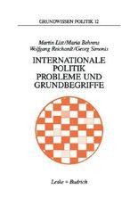 Internationale Politik, Probleme und Grundbegriffe