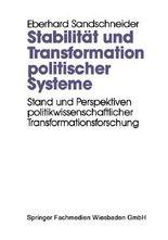 Stabilität und Transformation politischer Systeme