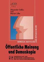 Öffentliche Meinung und Demoskopie