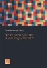 Die Parteien nach der Bundestagswahl 2002