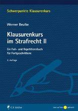 Klausurenkurs im Strafrecht. Bd.2