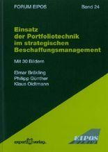 Einsatz der Portfoliotechnik im strategischen Beschaffungsmangement