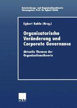 Organisatorische Veränderung und Corporate Governance