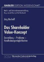 Das Shareholder Value-Konzept