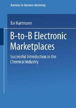 B-to-B Electronic Marketplaces