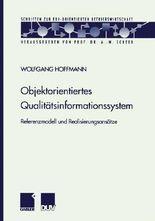 Objektorientiertes Qualitätsinformationssystem