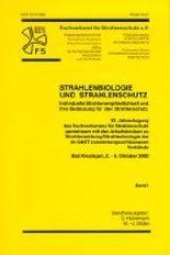 Strahlenbiologie und Strahlenschutz. Band 1