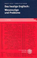 Das heutige Englisch: Wesenszüge und Probleme