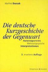 Die deutsche Kurzgeschichte der Gegenwart