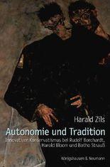 Autonomie und Tradition
