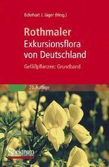 Rothmaler - Exkursionsflora Von Deutschland Gefabpflanzen: Grundband
